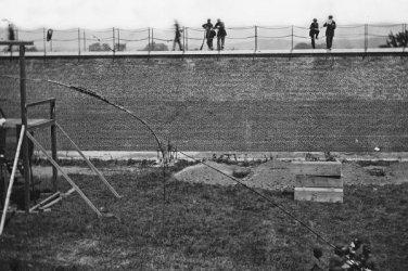 New 5x7 Photo: Coffins and Open Graves Ready for Condemned Lincoln Conspirators