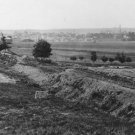 New 5x7 Civil War Photo: Confederate Fortifications with Fredericksburg Beyond