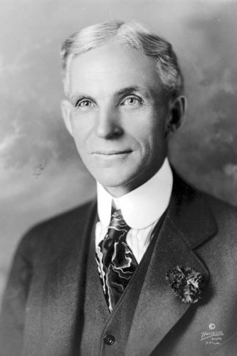 New 5x7 Photo: Auto and Industrial Pioneer Henry Ford