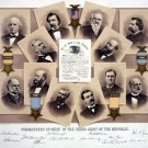 New 13x15 Poster: Commanders-in-Chief of the Grand Army of the Republic, G.A.R.