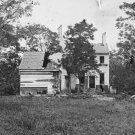 New 5x7 Civil War Photo: Shelled House on the Banks of Rappahannock River