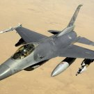 New 5x7 Photo: USAF F-16 Fighting Falcon over Iraq, 2008