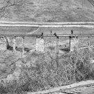 New 5x7 Civil War Photo: Bridge at Hanover Junction Burned After Gettysburg