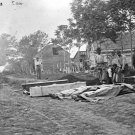 New 5x7 Civil War Photo: Burial of Federal Dead after Battle of Fredericksburg
