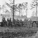 New 5x7 Civil War Photo: 18th Pennsylvania Cavalry Camp near Brandy Station