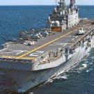 New 5x7 Navy Photo: USS SAIPAN (LHA-2), Tarawa-class Amphibious Assault Ship