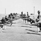 New 5x7 World War I Photo: Bayonet Practice Training Exercises at Camp Bowie