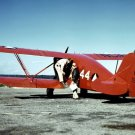 New 5x7 World War II Photo: Biplane at Civil Air Patrol Base in Bar Harbor