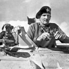 New 5x7 World War II Photo: General Bernard Law Montgomery in North Africa