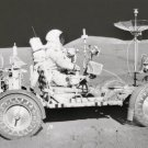 New 5x7 NASA Photo: David Scott in Lunar Roving Vehicle on Moon, Apollo 15