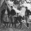 New 5x7 Civil War Photo: Men of 3rd Pennsylvania Cavalry, Peninsular Campaign