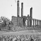 New 5x7 Civil War Photo: North Eastern Railroad Depot in Ruins, Charleston
