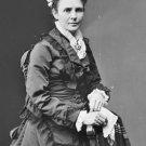 New 5x7 Photo: First Lady Lucretia Garfield, wife of President James Garfield