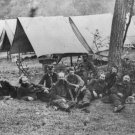 New 5x7 Civil War Photo: John Buford & Other Federal Generals Relaxing, 1862