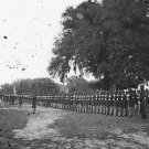 New 5x7 Civil War Photo: 29th Connecticut on Inspection at Beaufort, S. Carolina