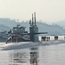 New 5x7 Photo: (SSN-697) USS Indianapolis, Los Angeles-Class Submarine