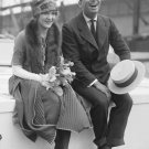 New 5x7 Photo: Early Movie Stars Douglas Fairbanks and Mary Pickford