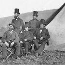New 5x7 Civil War Photo: Allan Pinkerton & Visitors at Antietam - Sharpsburg