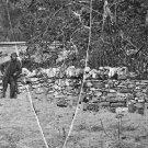 New 5x7 Civil War Photo: Graves of Soldiers at Antietam - Sharpsburg