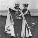 New 5x7 World War I Photo: Winston Churchill with Kaiser Wilhelm II of Germany