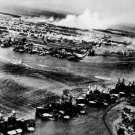 New 5x7 World War II Photo: Pearl Harbor Attack from Japanese Aircraft, 1941