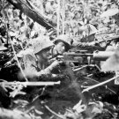 New 5x7 World War II Photo: United States Troops in Jungle at Cape Gloucester