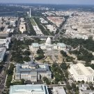 New 5x7 Photo: Aerial View of U.S. Capitol and Beyond, Washington, D.C.
