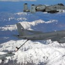 New 5x7 Photo: KC-135 Stratotanker Refueling A-10 Thunderbolts, Alaska