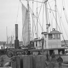 New 5x7 Civil War Photo: Supply Ships at Wharf, Aquia Creek Landing