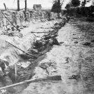 New 5x7 Civil War Photo: Confederate Dead behind Stone Wall at Marye's Heights