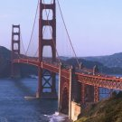 New 5x7 Photo: The Golden Gate Bridge in San Francisco Bay, California
