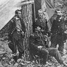 New 5x7 Civil War Photo: Winfield Scott Hancock & Union Generals at Petersburg