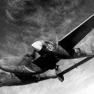 New 5x7 World War II Photo: Lockheed P-38H Lightning During Test Flight, 1944