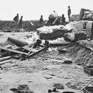 "New 5x7 Civil War Photo: ""King Cotton"" Fortification at Yorktown, Virginia"