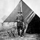 New 5x7 Civil War Photo: Union - Federal General George Gordon Meade by Tent