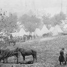 New 5x7 Civil War Photo: Federal Encampment on the Pamunkey River, Virginia