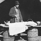 New 5x7 Civil War Photo: Embalming Surgeon at Work on Dead