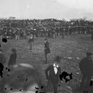 New 5x7 Civil War Photo: Assembly at Gettysburg Cemetery Dedication Ceremony