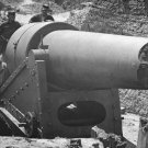 New 5x7 Civil War Photo: Bursted Cannon Muzzle on Morris Island, South Carolina