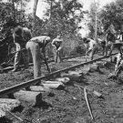 New 5x7 Civil War Photo: Repairing Tracks after the Battle of Stone's River