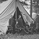 New 5x7 Civil War Photo: Dr. Jonathan Letterman & Staff, Army of the Potomac