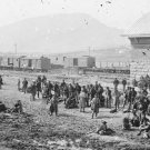 New 5x7 Civil War Photo: Confederate Prisoners at Lookout Mountain, Chattanooga