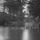 New 5x7 Civil War Photo: Federal Soldiers Bathing in the North Anna River