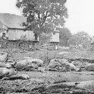 New 5x7 Civil War Photo: Trostle Barn after Battle of Gettysburg