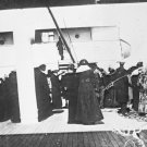 New 5x7 Photo: Survivors of RMS TITANIC aboard CARPATHIA after Rescue, 1912