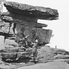New 5x7 Civil War Photo: Umbrella Rock on Lookout Mountain, Chattanooga, Tenn.