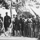 New 5x7 Civil War Photo: 8th New York Militia at Arlington, Virginia