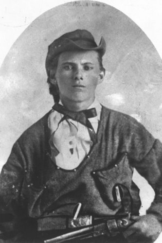New 5x7 Photo: Infamous Western Outlaw Jesse James, 1864