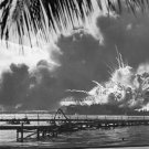New 5x7 World War II Photo: USS SHAW Hit by Japanese at Pearl Harbor, 1941