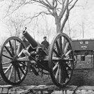 New 5x7 Civil War Photo: 6 Pounder Wiard Gun at Washington Arsenal